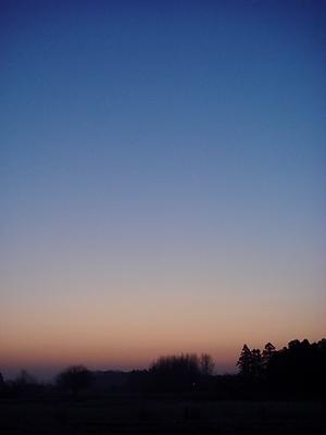 日の昇る前